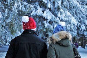 czapka na zime