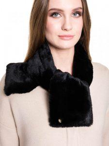 Czarne szaliki damskie