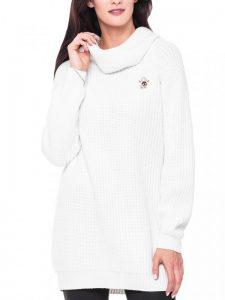 Modne swetry damskie golfy