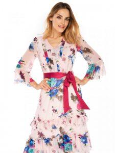 Ubrania z motywem kwiatowym dla kobiet