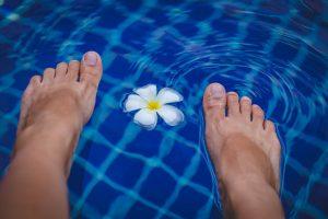 Zabieg regenerujący na stopy - efekty
