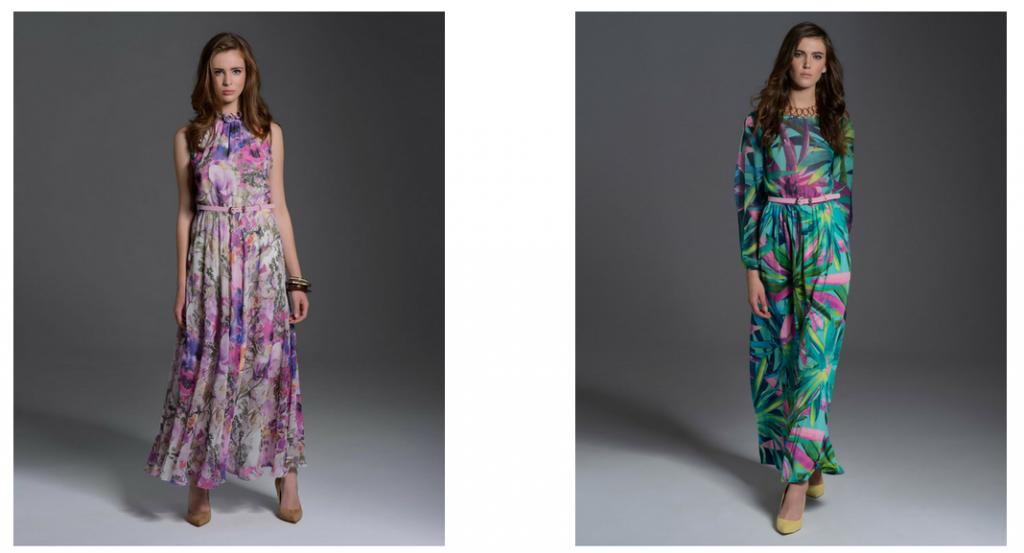 Najmodniejsze długie sukienki na wiosnę 2020