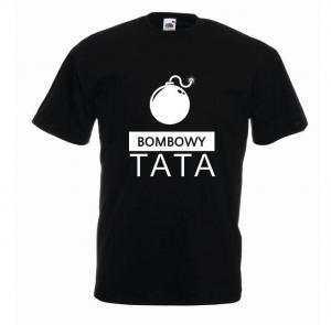 t-shirt bombowy tata